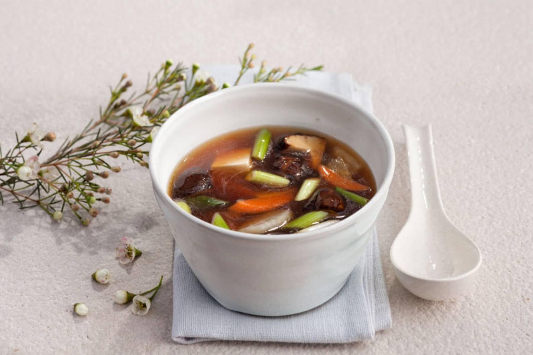 Składniki na danie: Japońska zupa jarzynowa – Kenchinjiru