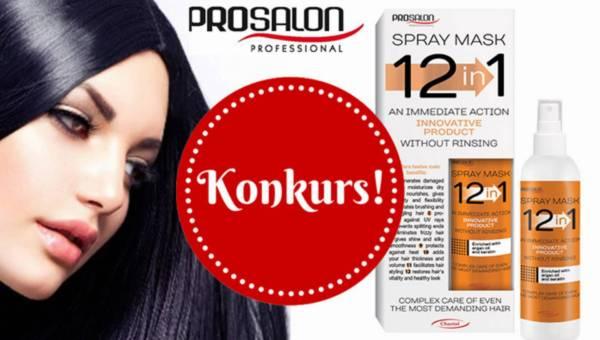 Wyniki konkursu: Wygraj maskę do włosów CHANTAL ProSalon Spray Mask 12 w 1