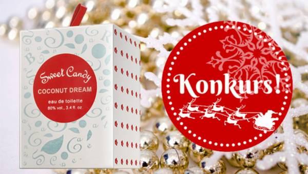 Wyniki konkursu: Na Święta wygraj zapach Sweet Candy Coconut Dream