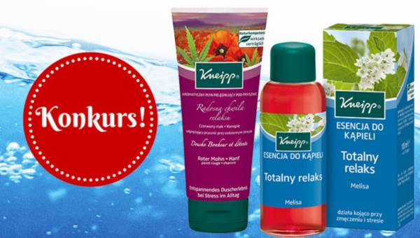 Wyniki konkursu: Relaksująca kąpiel z Kneipp
