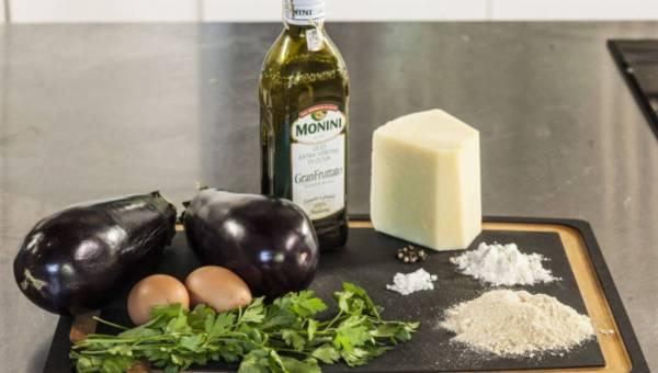 Proste i szybkie danie dla wegetarian: Kotleciki z bakłażanów