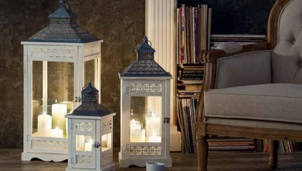 Jak ocieplić wnętrze jesienią i zimą? Rozwiązanie to nastrojowe lampiony i świeczniki!