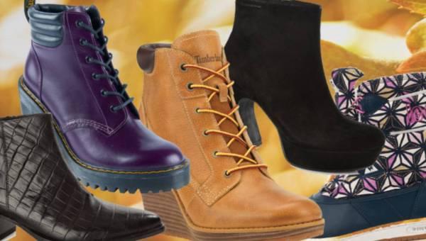 Casualowe modne  buty na jesień 2015 – przegląd propozycji różnych marek