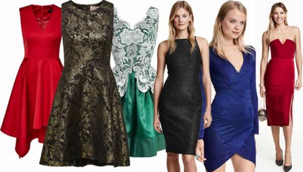 Shoppingowy przegląd: Modne sukienki na Andrzejki i Sylwestra 2015/ 2016
