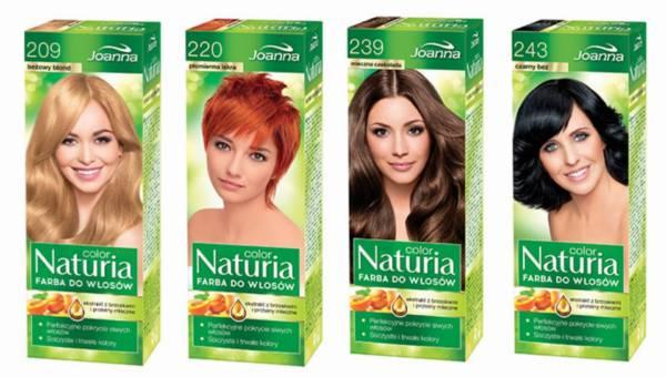 NATURIA COLOR farby do włosów od Joanny – nowe kolory!
