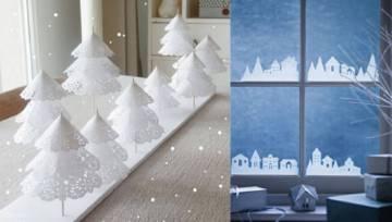 DIY: Papierowe ozdoby świąteczne. Oszczędny sposób na bożonarodzeniowe dekoracje