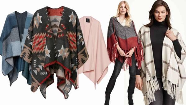 Shoppingowy przegląd: HIT jesieni! Poncho na sezon jesień – zima 2015/2016