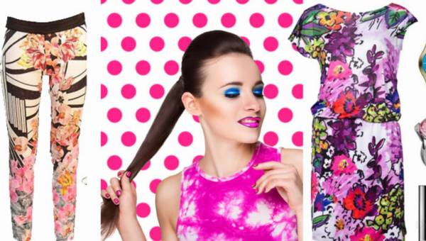 Subtelny Pop-art – gotowe stylizacje
