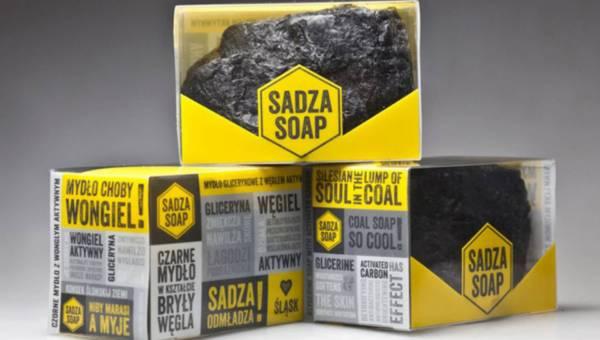 Sadza Soap – węgiel, który myje!