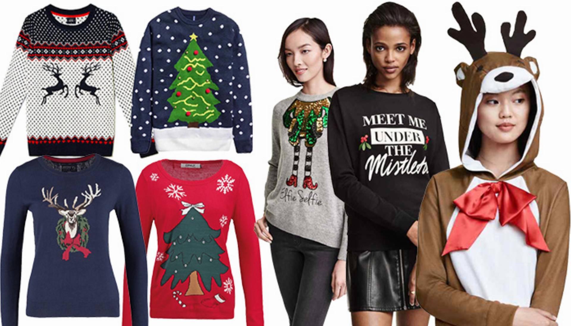 świąteczne swetry na zimę 2015