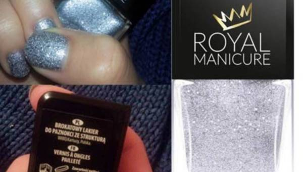 Wibo, Lakier do paznokci z brokatem ROYAL MANICURE