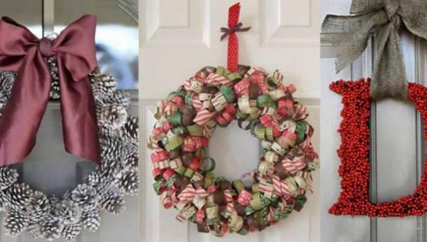 Jak zrobić świąteczne wieńce – 12 pomysłów na proste i efektowne ozdoby