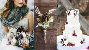Inspiracje – zimowy ślub