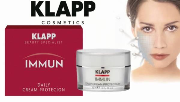Krem nawilżający Daily Cream Protection z linii IMMUN od KLAPP