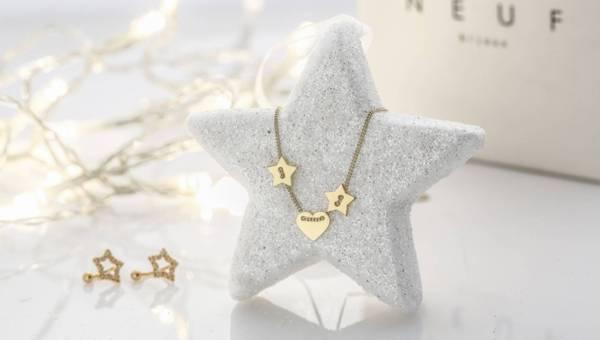 Gwiazdkowa biżuteria od Neuf Bijoux na Święta i cały rok
