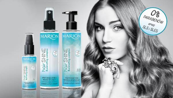 Nowa seria pielęgnacyjna do włosów SHINE od Marion