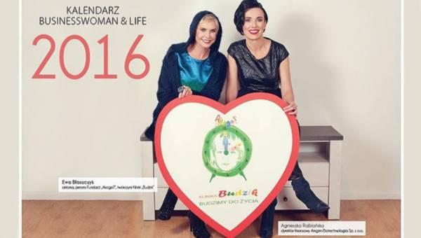 Redro pomaga: premiera kalendarza Businesswoman & Life na rok 2016