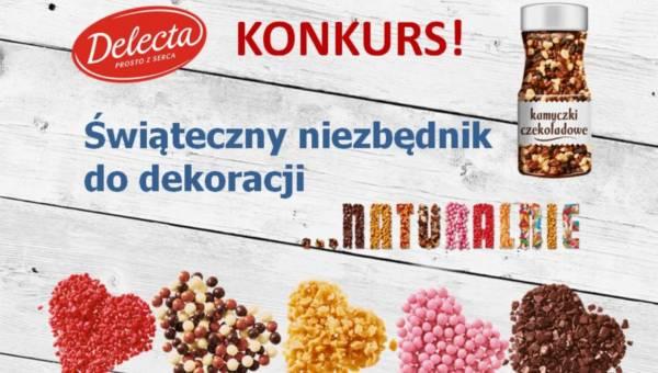 Konkurs: Delecta – Świąteczny niezbędnik… naturalnie!