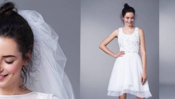 Krótkie suknie ślubne od Agaty Wojtkiewicz