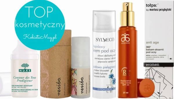 Przegląd kosmetyczny: TOP 5 – Naturalne kosmetyki pod oczy