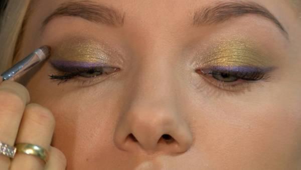 Makijażystka Edyta Fit-Abramik radzi jak umalować oczy na Sylwestra