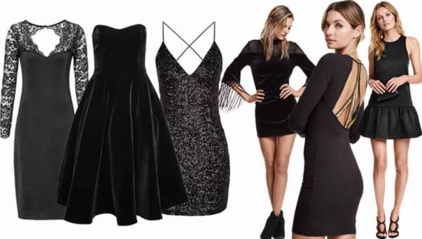 Shoppingowy przegląd: Mała czarna na Sylwester 2015 / 2016