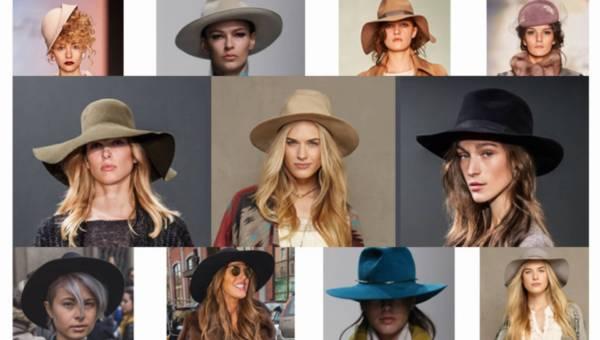 Jak nosić kapelusz ? 10 gotowych stylizacji z kapeluszem na zimę 2015/2016