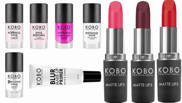Kosmetyczne nowości od KOBO Professional