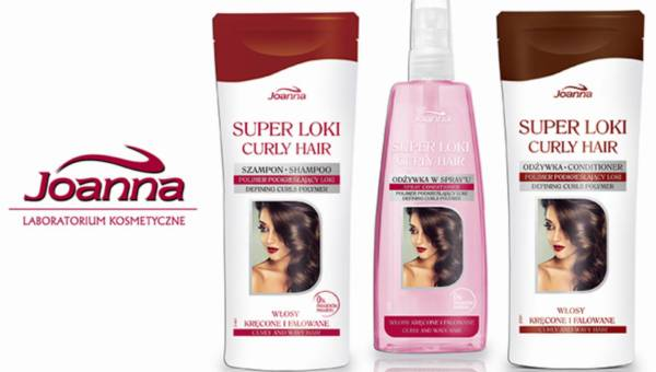 Seria do włosów kręconych SUPER LOKI od Joanny