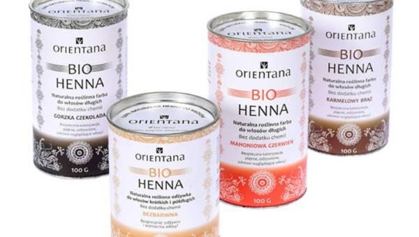 Bio Henna od Orientany to naturalny sposób na farbowanie włosów!