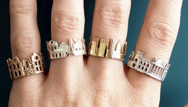 Kochasz swoje miasto? Możesz to wyrazić takim pięknym pierścionkiem!