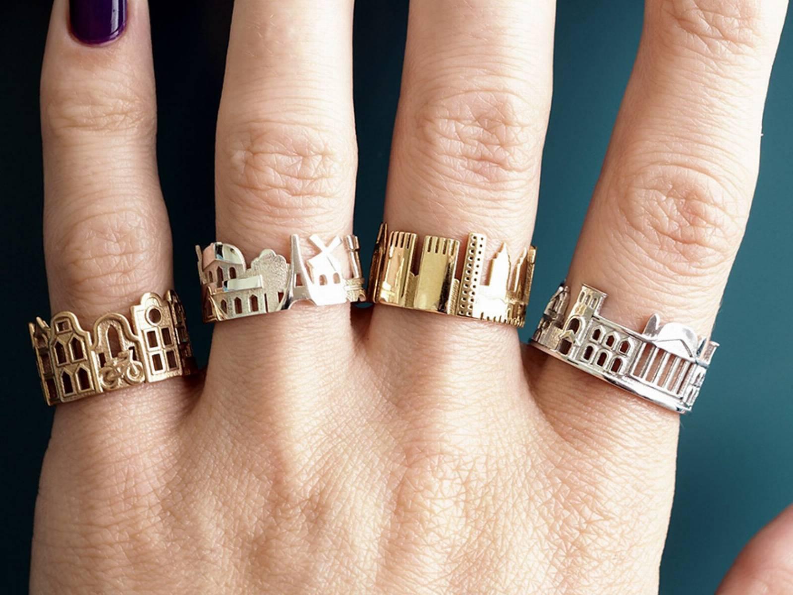 niezwykłe pierścionki