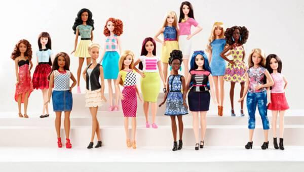 Rewolucja w sylwetkach lalek Barbie!