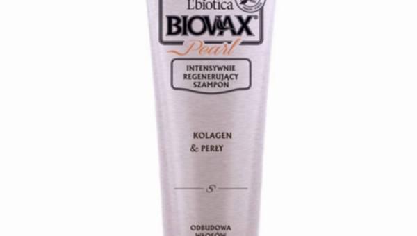 L'biotica, linia Biovax Glamour, Intensywnie regenerujący szampon Biovax Pearl