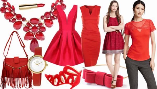 Shoppingowy przegląd: Czerwone ubrania i dodatki na walentynki 2016
