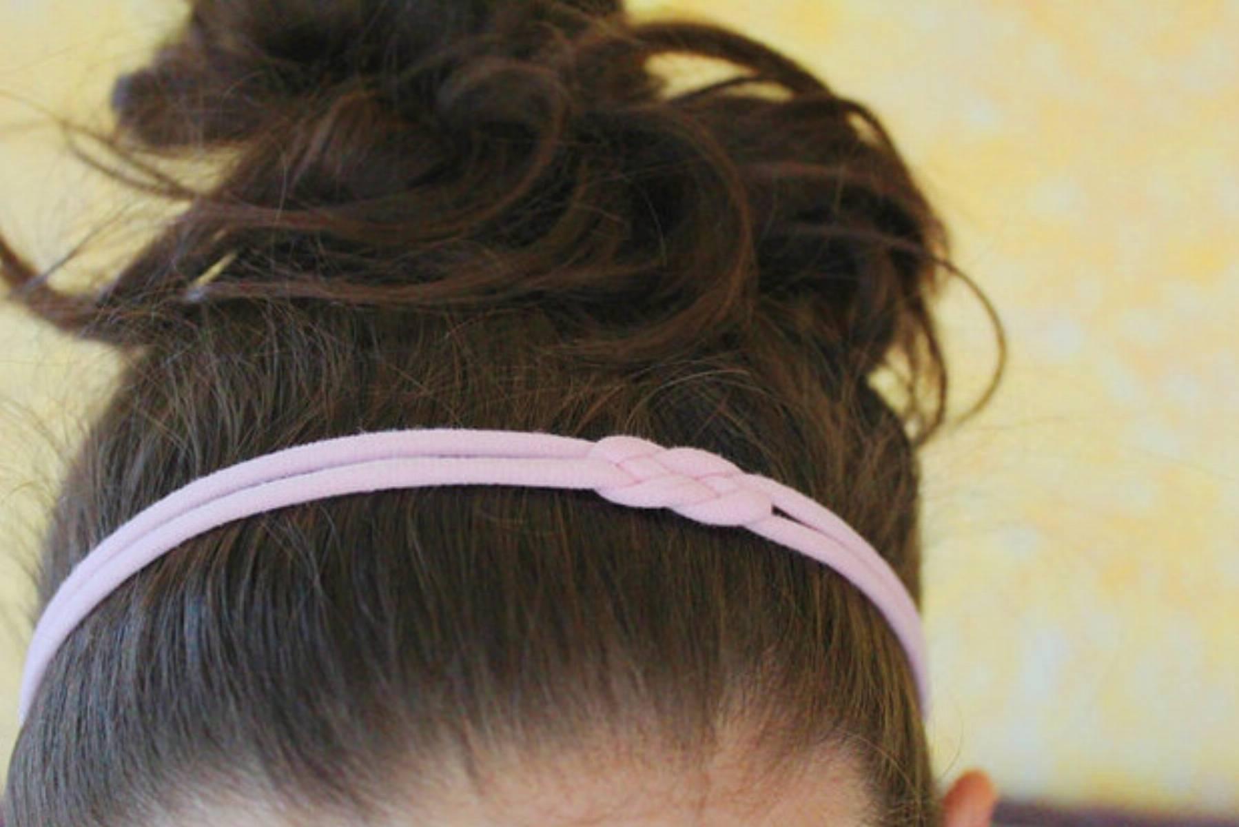 DIY - wygodne opaski do włosów