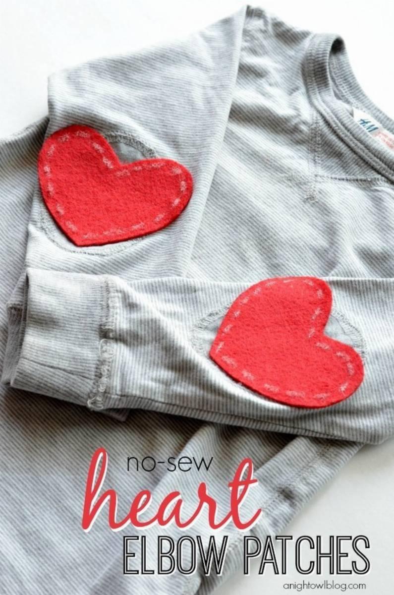 DIY - łaty Filcowe, skórzane, jeansowe