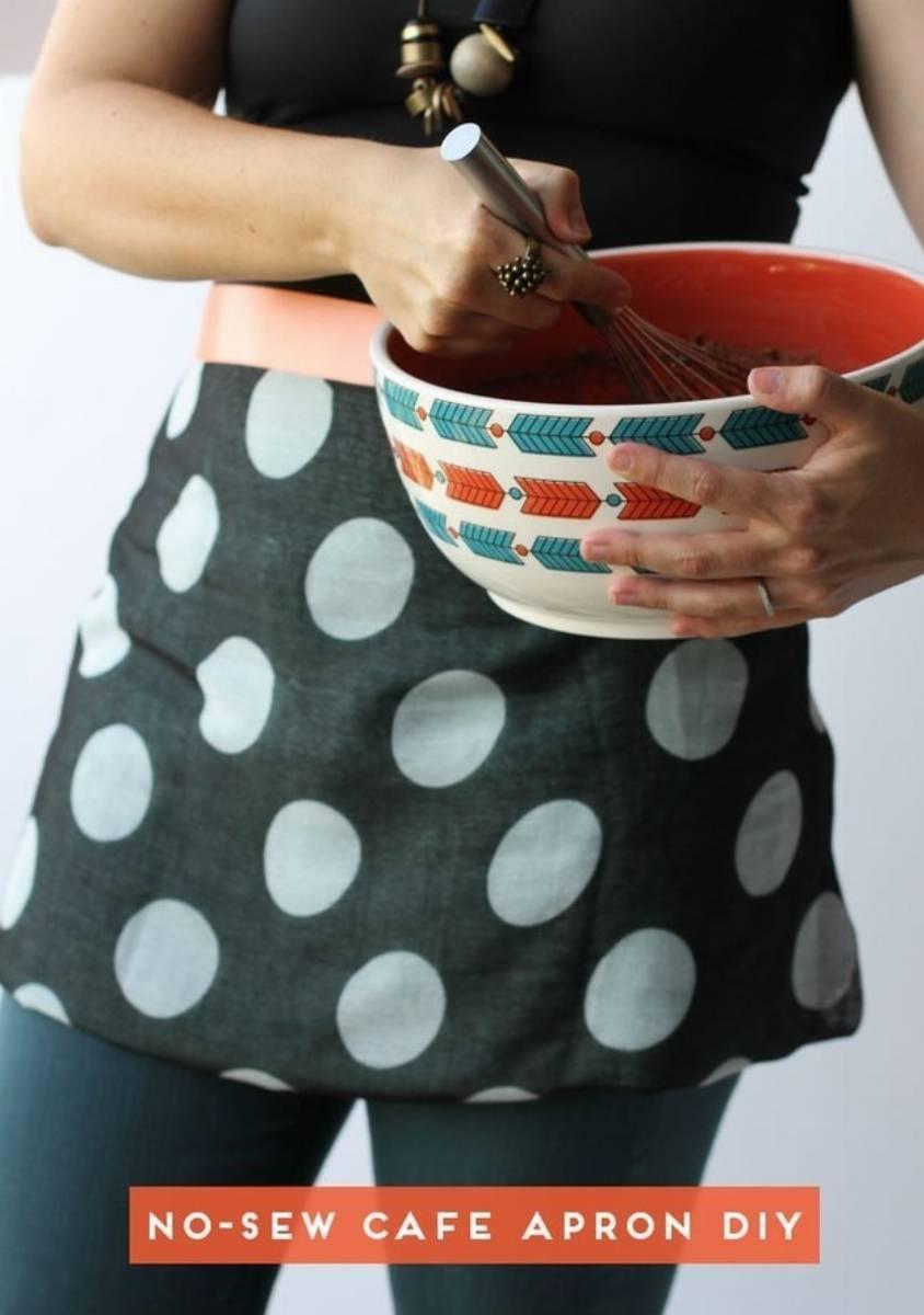 DIY - kuchenny fartuszek