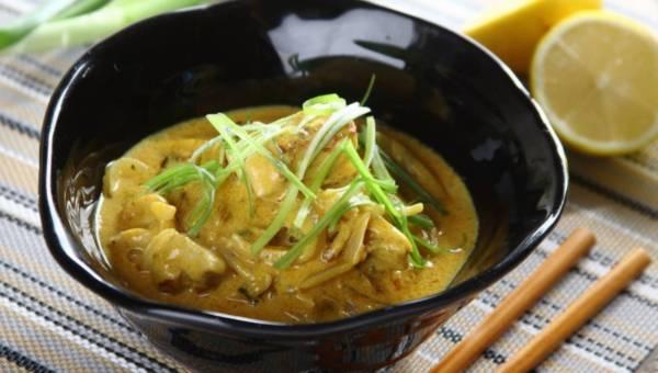 Łatwy kurczak w sosie cytrynowym z nutą curry