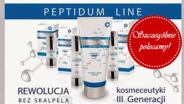 Kosmetyki Larens Peptidum o działaniu przeciwstarzeniowym