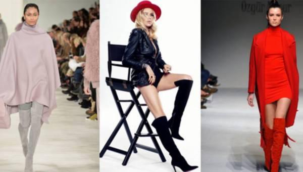 Modowe inspiracje: Muszkieterki  na zimę 2016 – płaskie, na obcasach lub koturnie