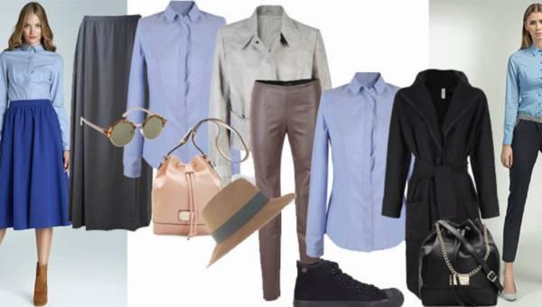 Modowe inspiarcje: Jedna koszula na 7 sposobów
