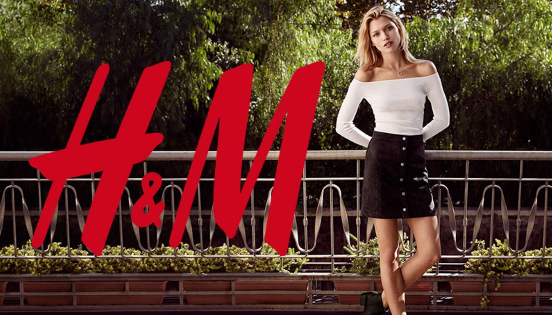 Nowa kolekcja H&M wiosna 2016 log
