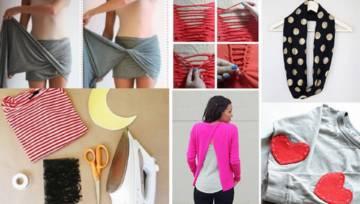 Inspiracje: DIY ubrania – nadaj im drugie życie