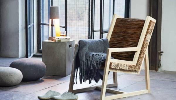 DIY: Naturalny i wygodny fotel