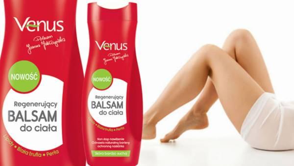 Nowość: Regenerujący balsam do ciała Venus