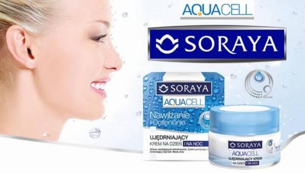 Nawilżająco-dotleniająca linia kosmetyków Soraya AQUACELL