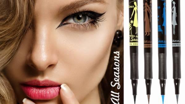 NOWOŚĆ: kolorowe eyelinery VIPERA COSMETICS w kolekcji ALL SEASONS
