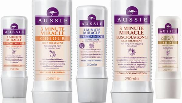 Nowa linia do pielęgnacji włosów Aussie 3 Minute Miracle
