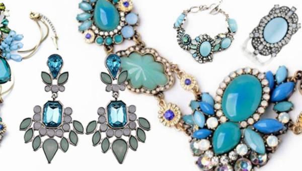 Błękitna biżuteria na wiosnę 2016 w kolekcji Alice Jo